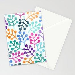 Flower Pattern IV Stationery Cards
