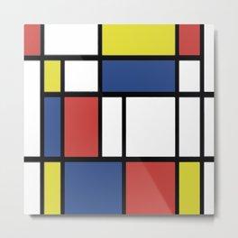 Mondrian 3 #art #mondrian Metal Print