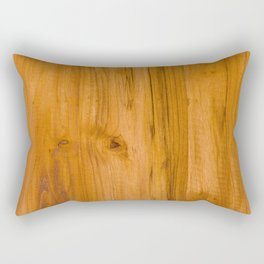 Teak Wood Rectangular Pillow
