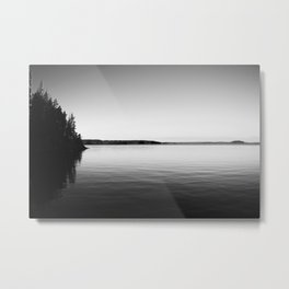 A serene lake in Finland Metal Print