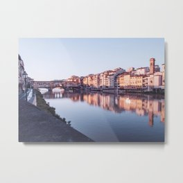 Sunrise on Ponte Vecchio | Florence Italy Metal Print