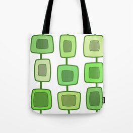 MidCentury Modern Swatches (Chartreuse) Tote Bag