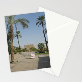 Temple of Karnak at Egypt, no. 1 Stationery Cards