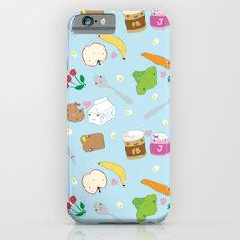 Kawaii Happy Snacks Toss iPhone Case