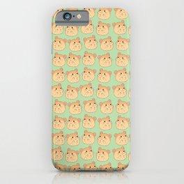 Cute Hamster Pattern iPhone Case