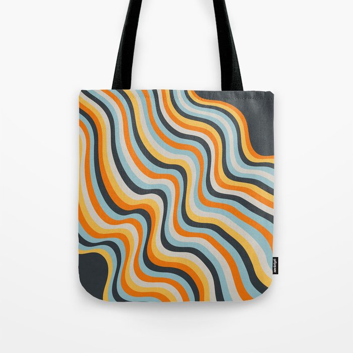 Dancing Lines Tote Bag