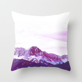 Purple Mountain Majesty Throw Pillow