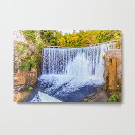 Monk's waterfall Metal Print