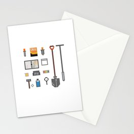 Soil Science Tools Stationery Cards