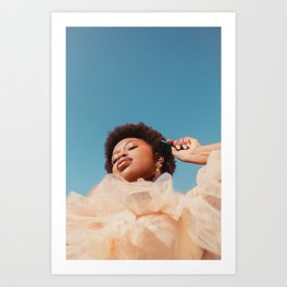 Blue Sky 1/2 Art Print