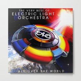Electric Light Orchestra Jeff Lynne 2021 Metal Print