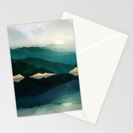 Waters Edge Reflection Stationery Cards