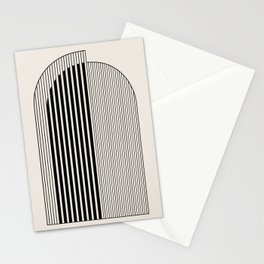 Abstract Arch Stationery Cards