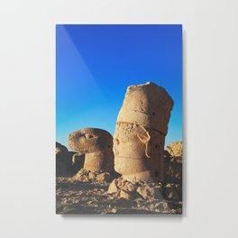 Sunrise; Sculptures of the Commagene Kingdom, Nemrut Dagi  Metal Print