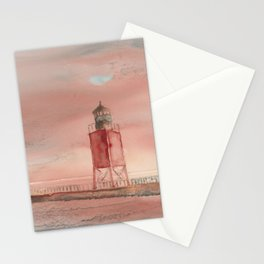Charlevoix South Pierhead Stationery Cards