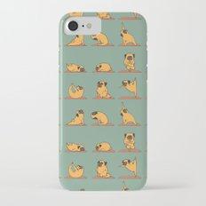 Pug Yoga iPhone 8 Slim Case
