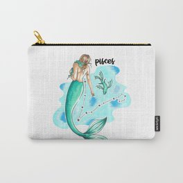Pisces Mermaid Carry-All Pouch