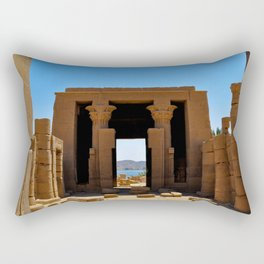 Temple of The Goddess Rectangular Pillow
