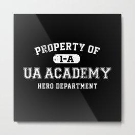 Property of UA Academy Metal Print