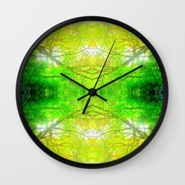 Glory from Above Wall Clock