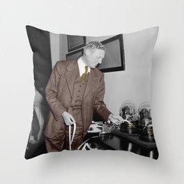 Stockbroker Throw Pillow