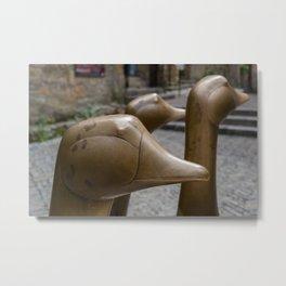 Geese of Sarlat Metal Print