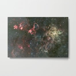 Tarantula Nebula and its surroundings Metal Print