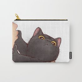 cat : huuh Carry-All Pouch