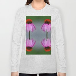 139 - Abstract Flowers Long Sleeve T-shirt