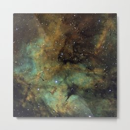 Gamma Cygni Nebula Metal Print
