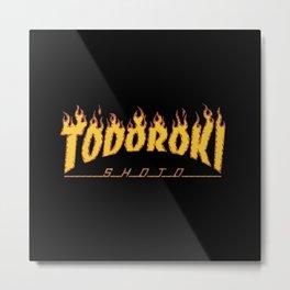 Todoroki Shoto Metal Print