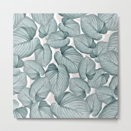 soft botanical Metal Print