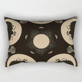 Ouija Wheel of the Moon - Beyond the Veil Rectangular Pillow
