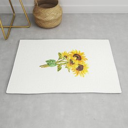 sunflower bouquet 2020 Rug