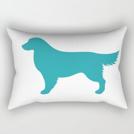 Golden Retriever Rectangular Pillow