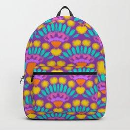 pop ethnic tassel print Backpack
