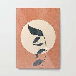 Summer Leaves Metal Print