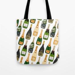 Champagne Bottles Tote Bag