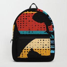Retro Chicken Lover Hen Farmer Gift Backpack