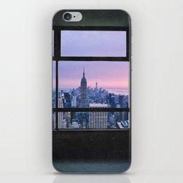 New York City Skyline Views iPhone Skin