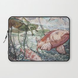 At the River Bend Laptop Sleeve