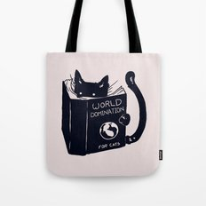 World Domination For Cats Tote Bag