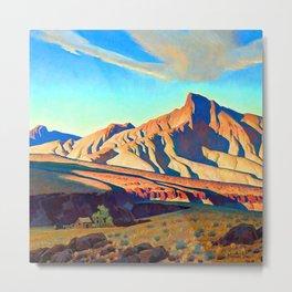 Maynard Dixon Home of the Desert Rat Metal Print