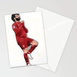"""The Egyptian King """"Mo Salah"""" Stationery Cards"""
