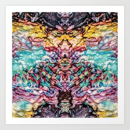 Genesis - Colorful Abstract Art Print