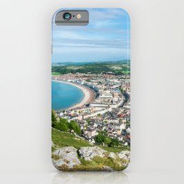 Llandudno Panorama iPhone Case