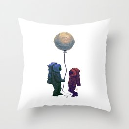 I'd give you the moon... Throw Pillow
