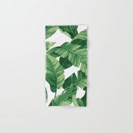 Tropical banana leaves IV Hand & Bath Towel