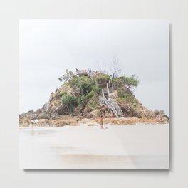 Byron bay, the rock Metal Print