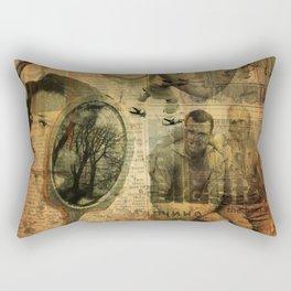 a la recherche du temps perdu... Rectangular Pillow